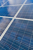 Solar photovoltaics panels Royalty Free Stock Image