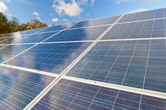 Solar photovoltaics panels Stock Photography