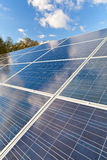 Solar photovoltaics panels Stock Photography