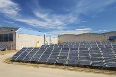 Solar plant Stock Photography