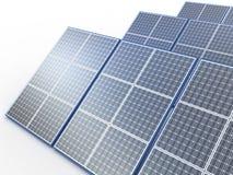 Solar plant stock illustration