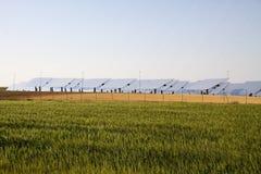 Solar plant Royalty Free Stock Photo