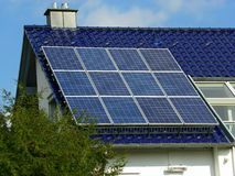 Solar Plant Royalty Free Stock Photography