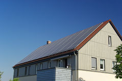 Solar plant 25 stock photo