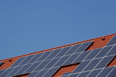 Solar plant 28 Stock Photos