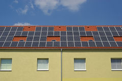 Solar plant 32 Royalty Free Stock Photo