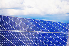 Solar plant Royalty Free Stock Image
