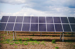 Solar plant Stock Photography