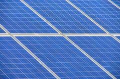Solar plant detail Royalty Free Stock Photos