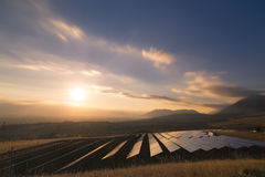 Solar Plant Royalty Free Stock Photography