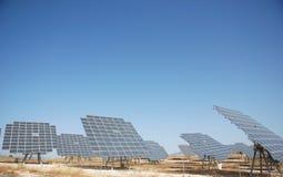 Solar plant in spain. Solar plant in central spain Royalty Free Stock Photo