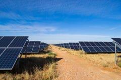 Solar plant Stock Photo