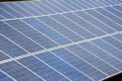Solar plates for green sun energy Royalty Free Stock Photography