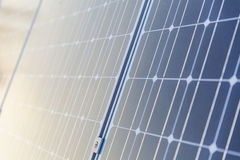Solar plates Royalty Free Stock Photo