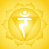 Solar plexus chakra Stock Images