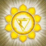 Solar Plexus Chakra Symbol Royalty Free Stock Image