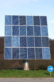 Solar power. Photovoltaic plant module 24 rotating and swiveling Royalty Free Stock Photo