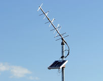 Solar Power Antenna Royalty Free Stock Photo