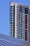 Solar power in Australia Stock Photo