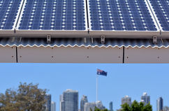 Solar power in Australia Stock Images