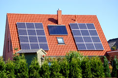 Solar power cells Stock Images