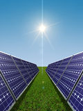 Solar power concept Stock Photography