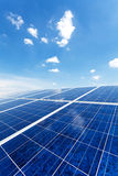 Solar power for electric renewable energy from the sun Stock Images