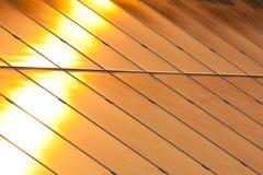 Solar power for electric renewable energy from the sun. Reflection sun light Stock Photos