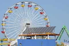 Solar Power Ferris Wheel 2 Stock Images