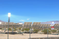 Solar power generating system Stock Photography