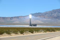 Solar power generating system Stock Images