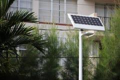 Solar power light Royalty Free Stock Photography
