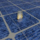 Solar power Royalty Free Stock Photo