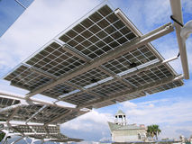 Solar power panel Royalty Free Stock Images