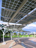 Solar power panel Stock Images