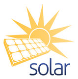 Solar Power Panel Concept Stock Photography