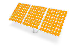 Solar power - panels Stock Photo