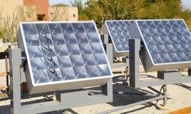 Solar Power Panels Stock Photography