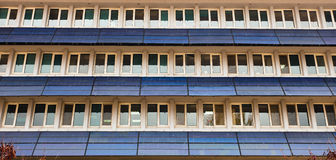 Solar power panels on a domestic. Building in Turkey Stock Photos