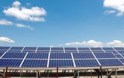 Solar power panels Stock Image