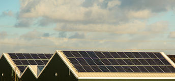 Solar power Royalty Free Stock Photography