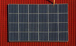 solar power plant 08 Stock Images