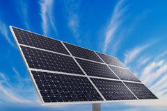 Solar power plant Royalty Free Stock Photo
