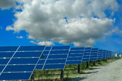 Solar power plant Royalty Free Stock Photo