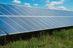 Solar power plant Royalty Free Stock Image