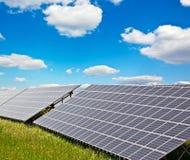 Solar power plant Royalty Free Stock Photos
