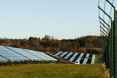Solar power plant Royalty Free Stock Photography