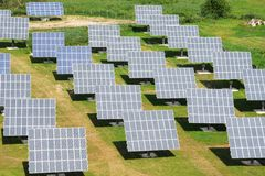 Free Solar Power Plant Stock Photography - 6680162