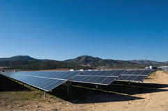 Solar power plant Stock Photography