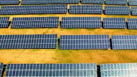Solar power plant. stock video footage